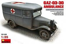 Miniart 1/35  GAZ-03-30 Ambulance #35160  *Sealed*nEW*