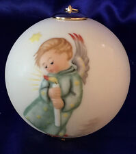 "Goebel M. I. Hummel Porcelain ""Heavenly Angel"" Ornament With Box, Hum 3021, $50"