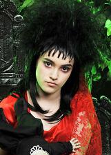Womens Beetlejuice Style Gothic Bride Wig