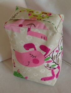 PRETTY CHILDRENS MULTI COLOURED ANIMAL FABRIC DOOR STOP ... UNFILLED