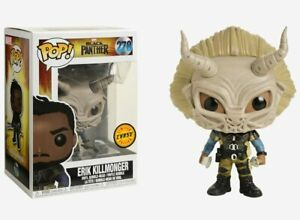 Funko POP! Marvel Black Panther Erik Killmonger CHASE VARIANT Figure 278 23350