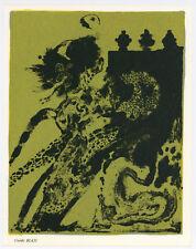 Guido Biasi original lithograph, 1967