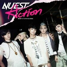 NUEST NU'EST - [ACTION] 1st Mini Album CD + Photo Booklet K-POP Sealed
