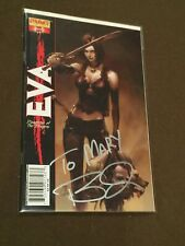 Eva Daughter of the Dragon Comic Book Dynamite Entertainment Comics Signed