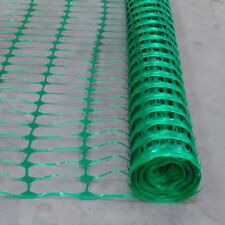 15M X 1M Green Barrier Fencing Plastic Mesh Safety Netting Event Fence