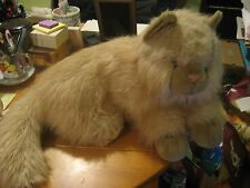 """Chosun Large Cuddly Soft Plush Persian Cat 24"""" Head To Tail EXC Gorgeous"""