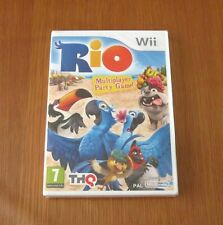 RIO Multiplayer Party Game, Rio Film about Parrots, Nintendo Wii - New & Sealed