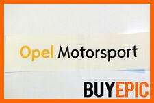 Opel Motorsport Aufkleber 300mm x 50mm Sticker, Corsa, Astra, 16V, Turbo, OPC
