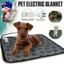 2020 Pet Electric Heat Heated Heating Heater Pad Mat Blanket Bed Dog Cat BunnyAU