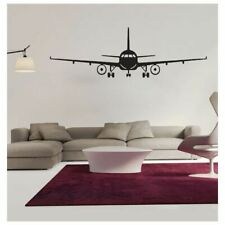 Airplane Wall Sticker Modern 3D Wall Decal Living Room Decor Plane Wall Sticker