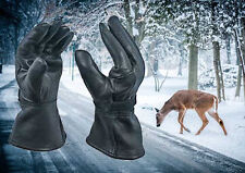 Deerskin Gloves--Nice made-- in usa xl