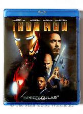 Blu-ray First Iron Man 1 One Movie English French Portuguese & Spanish Subtitles