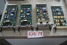 4 X BELL AND HOWELL PRINTED CIRCUIT BOARDS  STOCK#K1479