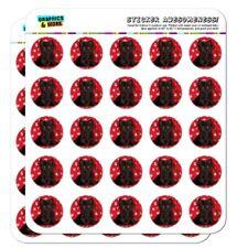 Black Ragdoll Tiffany Cat Hearts Love Planner Calendar Scrapbooking Stickers