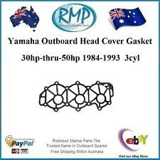 1 x New Yamaha Head Cover Gasket 30hp-thru-50hp 1984-1993 3cyl # R 6H4-11193