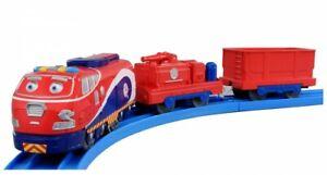 Train Toy Plarail Chuggington Leader Model Jackman Chugpatrol CS-11/Takara Tomy
