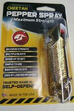 Gold Snake Personal Pepper Spray 18% Self Defense 1/2oz Keychain& Case Included