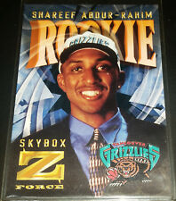 Shareef Abdur-Rahim 1996-97 Z-Force Z-CLING Parallel Rookie Card (no.R-3)
