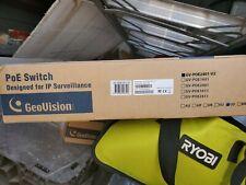 GeoVision Gv-Poe2401-V2 Poe switch 24 port Ip Surveillance