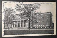 Vintage Postcard Reneau Hall M.S.C. W.  Columbus, Mississippi  B73