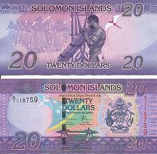 Salomonen / Solomon Islands - 20 Dollars 2017 UNC - Pick New, Serie A/1