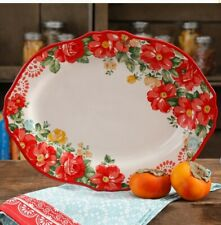 Pioneer Woman Vibtage Floral 14.5-inch platter New
