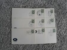 ISRAEL COLLECTION OF OF 99 UNADDRESSED SPECIAL CANCEL COVERS - NICE!