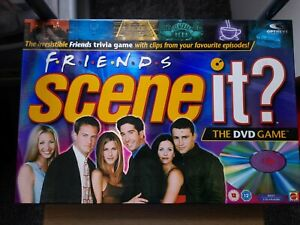 Scene It? FRIENDS DVD Board Game Checked and Complete.