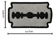a54v Nobody/'s perfect écusson patch 8 cm NEUF