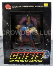 "DC Direct CRISIS ON INFINITE EARTHS 7-7/8"" Porcelain Statue Superman Supergirl"