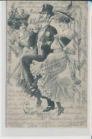 "Soldatenkarte 190424.1.04 Cake Walk Beilage des ""Sect"""