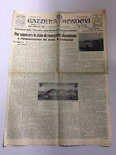 GAZZETTA DI MONDOVÌ Settimanale Anno 76 N.46 Novembre 1960 Città Cuneo Mondovi