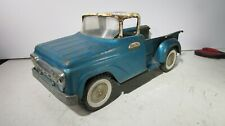 Vintage 1959 Tonka Mound Minn BLUE Step-side Pickup Truck Pressed Steel Toy