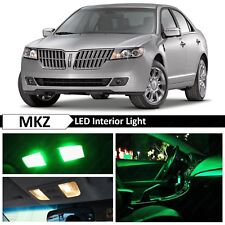 15x Green Interior License Plate LED Light Package Kit Fit 2007-2012 Lincoln MKZ
