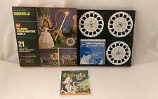 Vintage Talking 3D View Master Cinderella VGC Complete