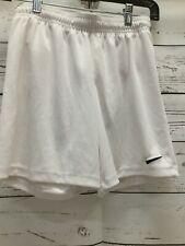 Nike Women's Small White Dri-Fit Athletic Shorts