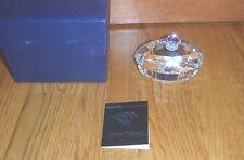 Zaydner Crystal ~ Diamond Ring Case Holder Box Crystal ~ NEW in BOX