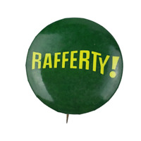 Vtg Rafferty Western Badge LA Anaheim Pinback Button