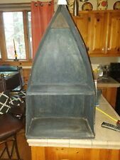 """Large Lakehouse Boat Wall Accent Shelf Country Rustic Nautical Decor 35"""""""