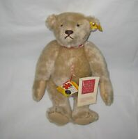 "Vintage Teddy Bear Jointed 12"" Steiff 0157/32 Replica 1904"