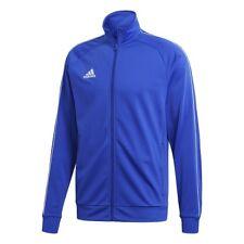 adidas Core 18 Polyester Jacket Kids Blue White 140