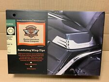 Harley Davidson Saddlebag Wing Tips 53826-00