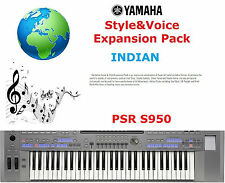 Yamaha PSR S950 INDIAN Expansion Pack