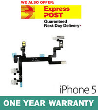 iPhone 5 Power Volume Mute On Off Button Switch Key Flex Cable Genuine New