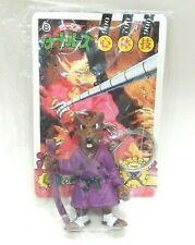 Japan Teenage Mutant Ninja Turtles Splinter Figure Keychain Game Card Toy Kids