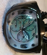 Invicta Mens Lupah Revolution Swiss Blue MOP Limited Edition Watch Leather 21994