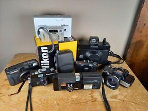 Vintage camera job lot - Minolta 110 Zoom, Polaroid EE100, Rollei A26, Rollei 35
