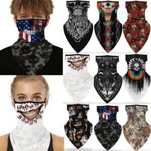 Unisex Skull Neck Tube Motorbike Biker Snood Scarf Face Mask Bandana Balaclava