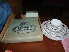 Lennold Fine China Rhapsody 1812 Five Piece Place Setting Unused in Original Box