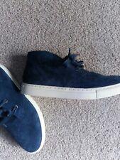 Polo Ralph Lauren NEW Mens Blue Suede Boots 6 Joplin 11571 (827B)